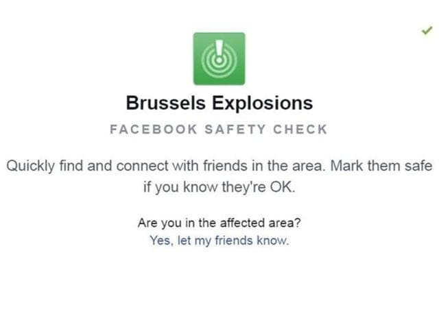 Brussels,Facebook,Safety Check
