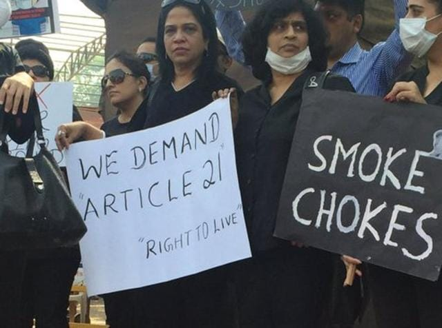 Residents of Chembur, Vashi and other areas around the Deonar garbage dump have planned a gathering on Tuesday at Azad Maidan to protest against the municipal corporation's failure to stop fires at the dump.