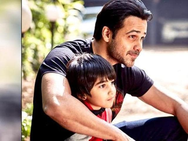 Emraan Hashmi's son was about four years old when he was diagnosed with cancer. (Emraanhashmi/Twitter)
