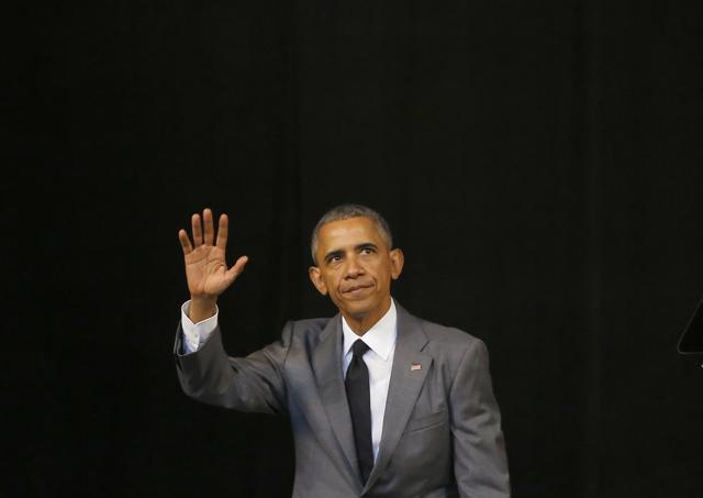 United States President Barack Obama speaks to the Cuban people at the Grand Theater of Havana, Cuba, Tuesday. Obama started his speech by pledging that the U.S. will