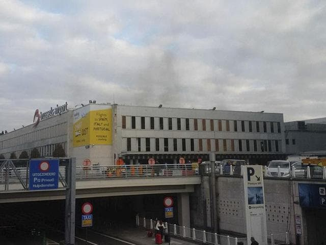 Several people were killed in the explosions that tore through the departure hall of Brussels airport on Tuesday.