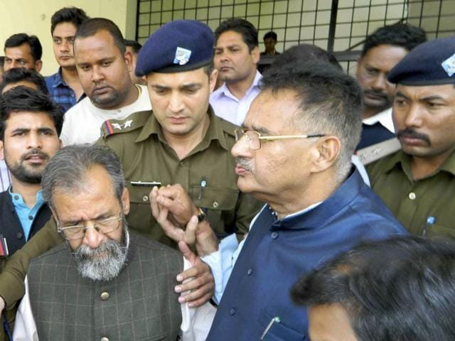 Police had produced arrested BJP MLA Ganesh Joshi at court in Vikasnagar on Friday.