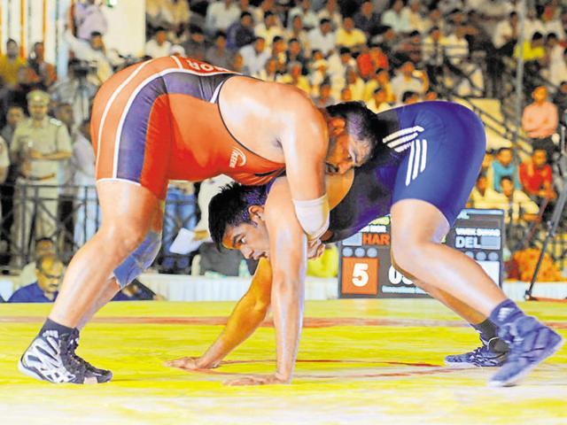 Bharat Kesri Dangal,wrestling,BJP