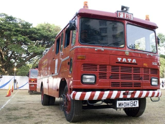 fire tenders,BMC,congested areas