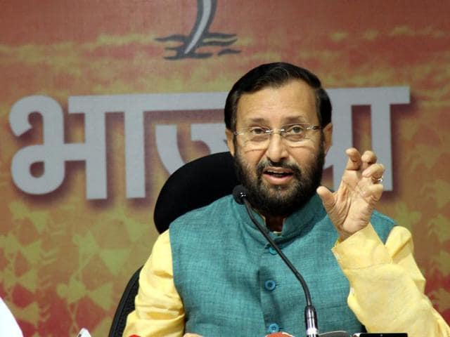Prakash Javadekar said Congress may have distanced itself from Shashi Tharoor's comments but it was not adequate as the MP had not expressed regret.