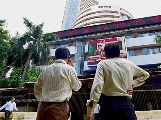 Sensex opens 44 points down on profit-booking, Nifty below 7,700