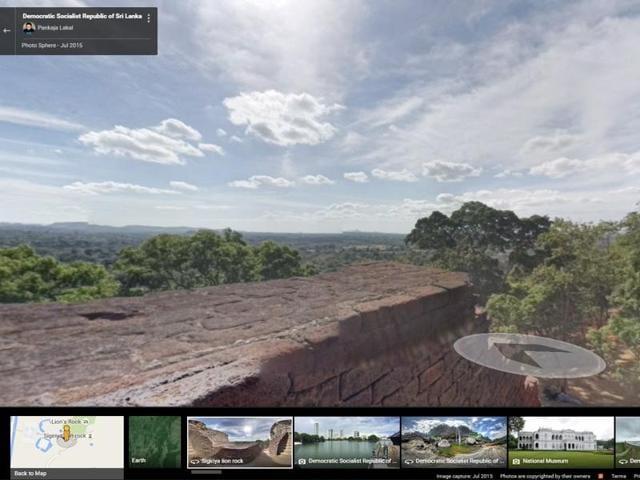 Google Street View,Sri Lanka,Google Maps