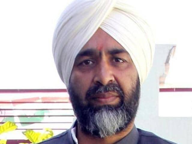 Congress leader Manpreet Singh Badal.
