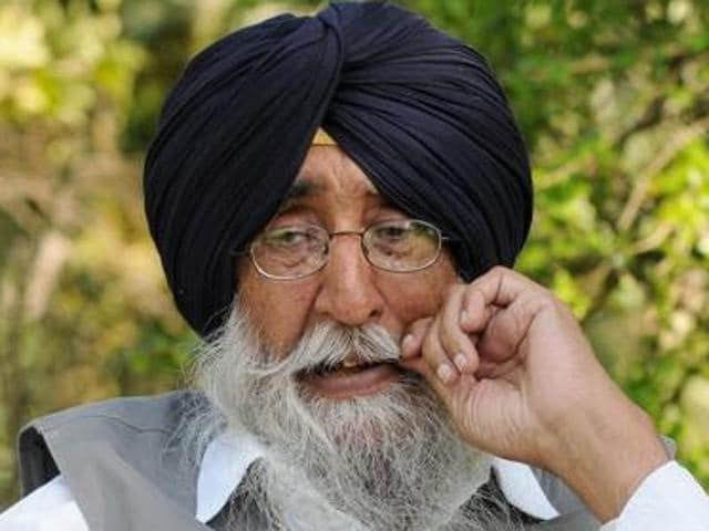 Shiromani Akali Dal (Amritsar) president Simranjit Singh Mann