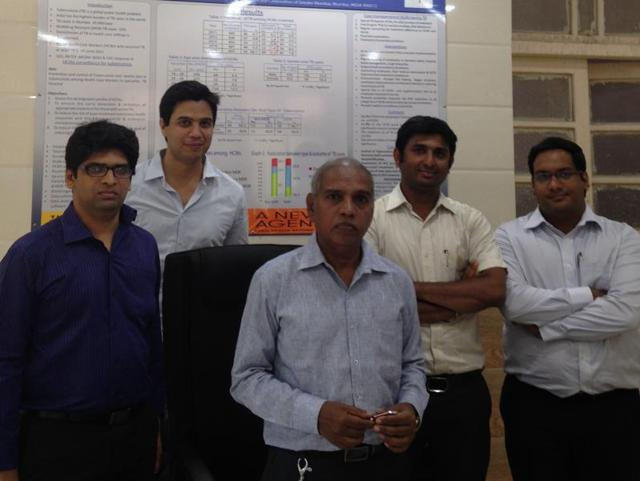 The team of psychiatrists at Sewri TB hospital have helped patients deal with drug-induced psychosis.