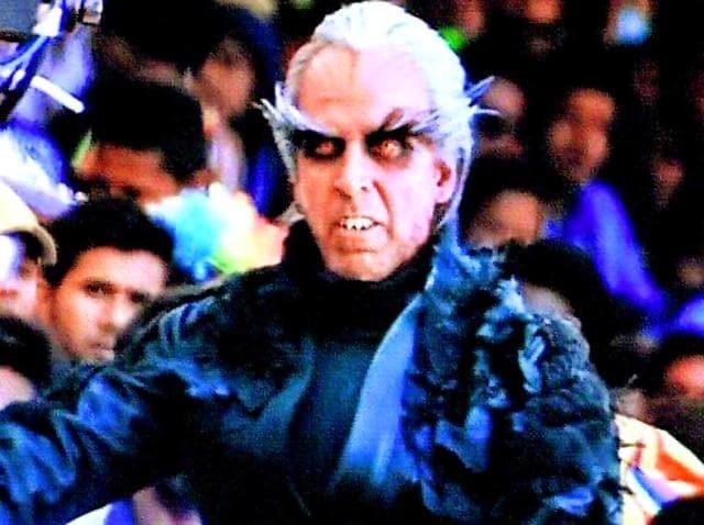 Akshay Kumar plays the evil scientist Dr Richard in the Rajinikanth starrer 2.o.