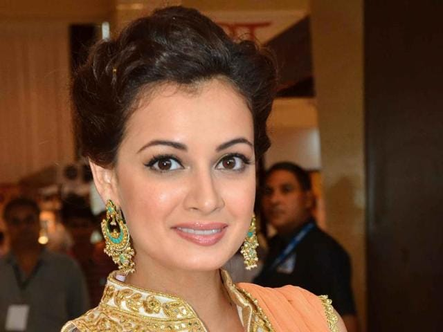 Bollywood actor Dia Mirza was slammed for saying that people should opt for dry Holi.