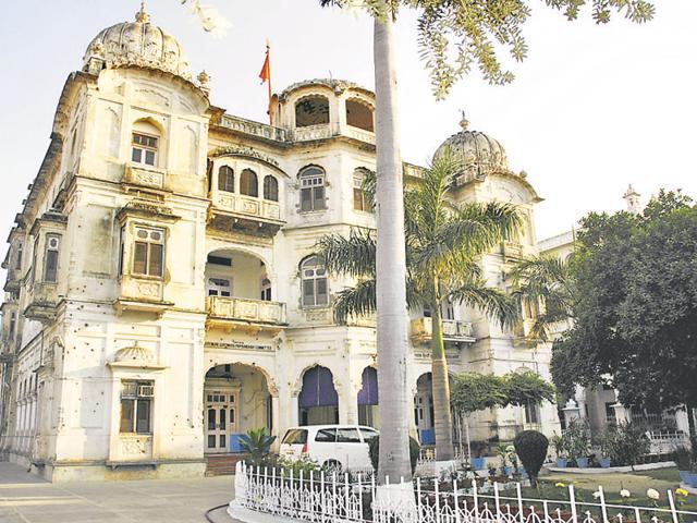 Teja Singh Samundri Hall at the Golden Temple complex.