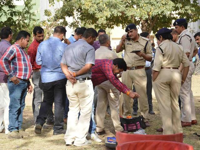 On March 19 police had recovered over 2.7 kg explosives, detonators, wires and a cell phone from a hostel in Ujjain.