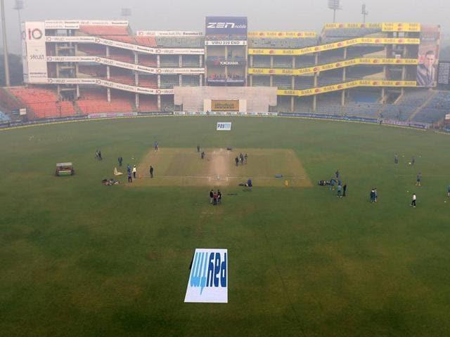 A file photo of the Feroz Shah Kotla Stadium in New Delhi.