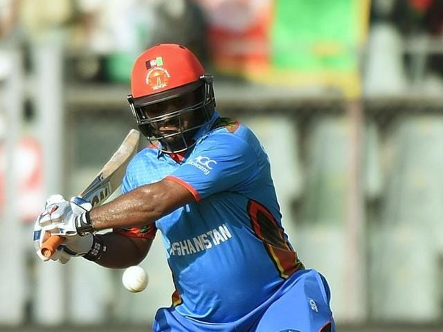 Afghanistan will look to opener Mohammad Shahzad to help them chase down England's 142/7.