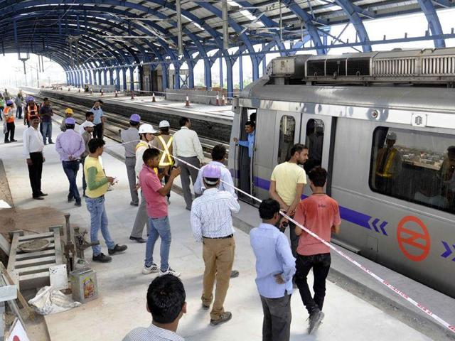 Metro services will not be available till 2.30pm on all lines of Delhi Metro, including Airport Express on the occasion of Holi.