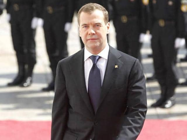 "Russian Prime Minister Dmitry Medvedev called Ukrainian leader a ""moron"" for saying Russian role in Brussels attacks could not be ruled out."