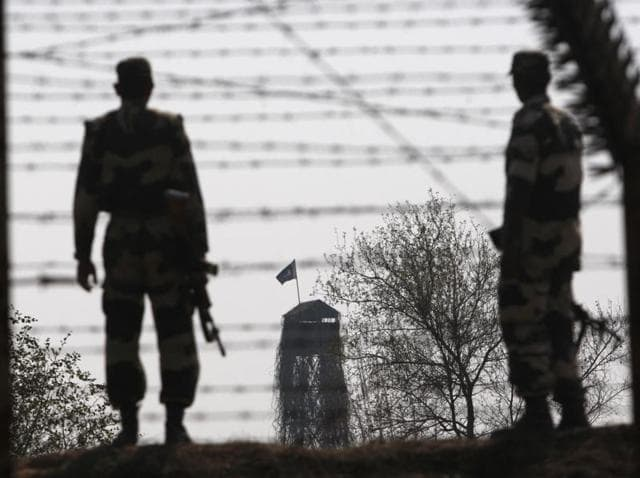 Representative image)Security agencies were alerted  about a former Pakistani soldier and six terrorists who crossed over to India to carry out attacks in Delhi on Holi.