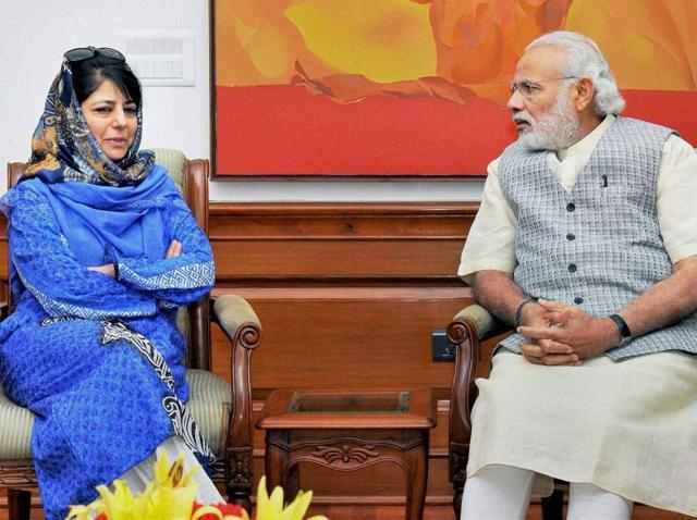 Mehbooba-Modi meet,PDP-BJP govt,Kashmir govt
