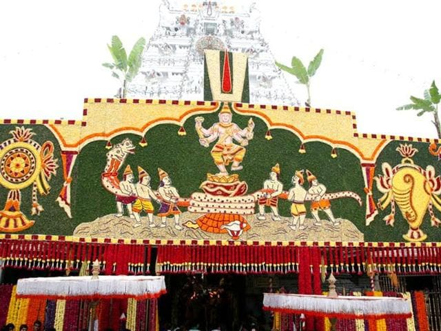 A file photo of Tirumala Tirupati Devasthanam.