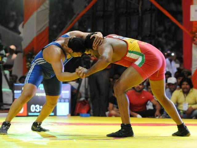 Khatri scored one technical point in the first round, after which he adopted a defensive mode.