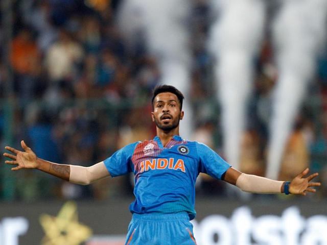 Pandya was able to keep his calm in the situation and he claimed two wickets and gave away 10 runs in the final over.