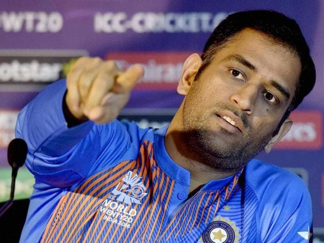 Mahendra Singh Dhoni lashed out a scribe after being asked if he was content with the one-run win over Bangladesh