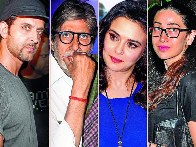 A host of Bollywood celebs including Amitabh Bachchan and Hrithik Roshan are battling legal issues.