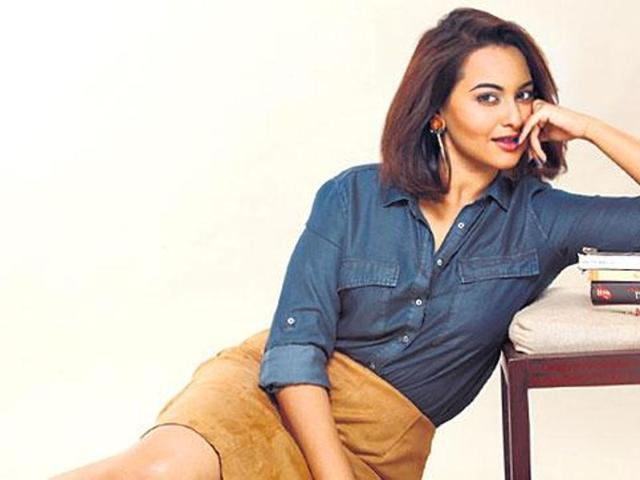 Sonakshi will be seen with John in Force 2. (HT Photo)