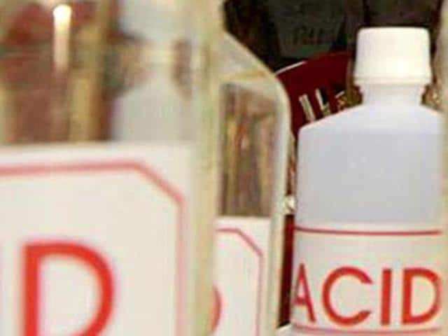 There are only 50 firms licensed to sell acid in the market, still acid is easily available at the grocery shops.