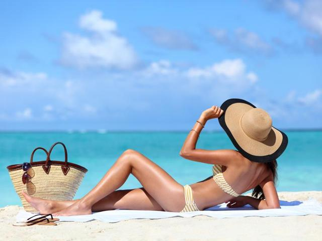 The researchers looked into the paradox that women who sunbathe are likely to live longer than those who avoid the sun, even though sunbathers are at an increased risk of developing skin cancer.