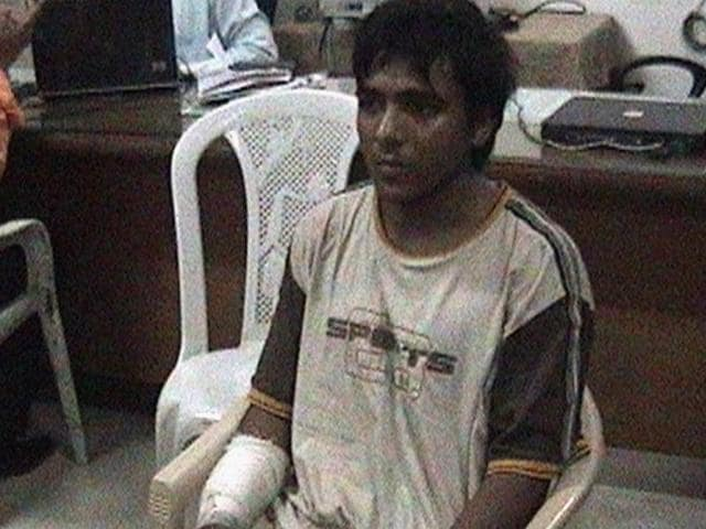 Mohammed Ajmal Kasab. the 26/11 attacks convict.