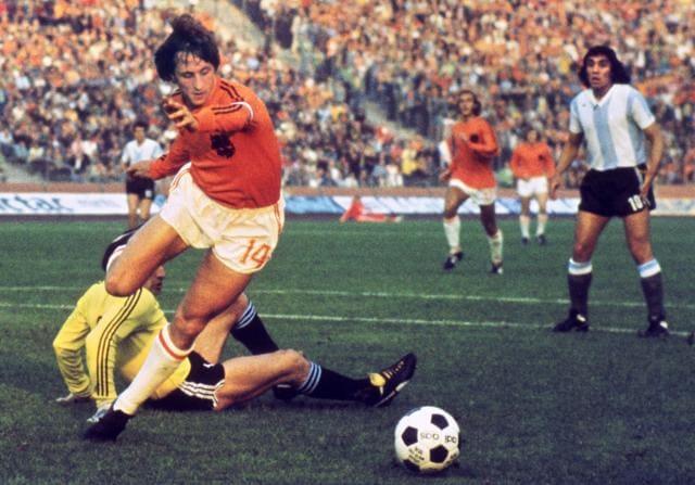 Johan Cruyff,Netherlands vs France,Dutch football association