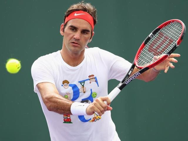Roger Federer hasn't played since his loss to Novak Djokovic at the Australian Open semifinals.