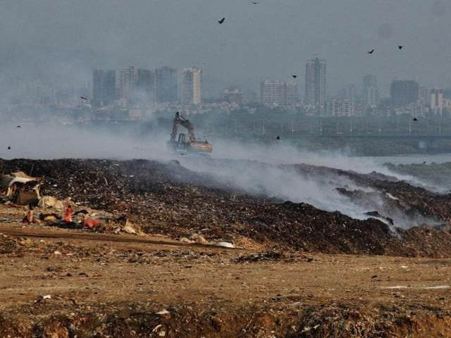 Mulund dumping ground is the second largest waste disposal facility in Mumbai.
