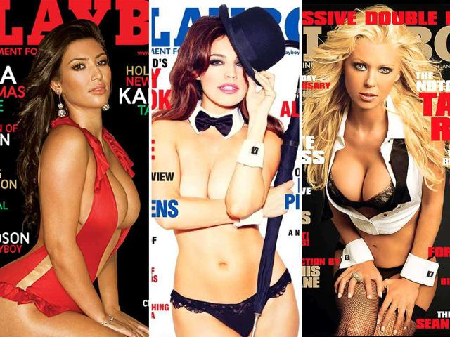 From Kim-Kardashian and Drew Barrymore to supermodels like Cindy Crawford and Kelly Brook some of the curviest and most sensual ladies have graced the covers of Playboy.