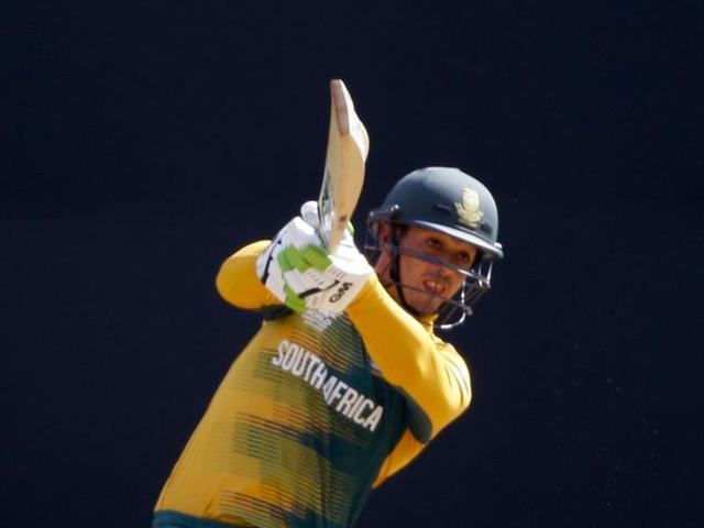 South Africa will look to openers Quinton de Kock and Hashim Amla to help them post a big total.