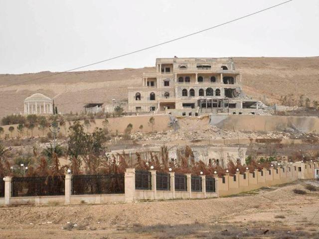 Syrian army in Palmyra,Palmyra,Islamic State