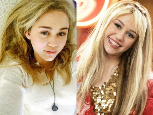Miley also told her fans that Hannah Montana is chopped up into little tiny pieces and buried in her backyard.