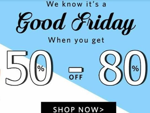 Snapdeal,Good Friday,e-commerce