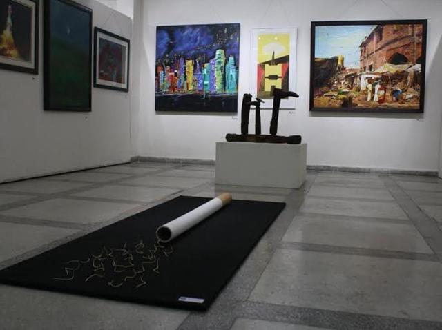 Annual Art Exhibition,Punjab Kala Bhawan,Anandmoy Banerjee