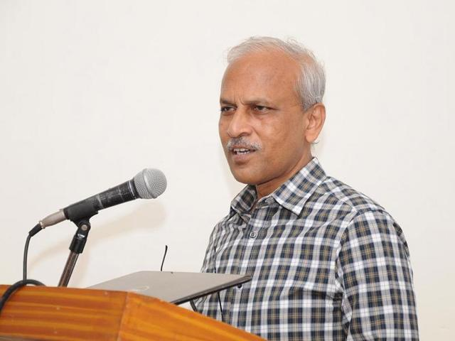 Professor Panchan Mohanti, director of the Centre For Endangered Languages, Central University of Hyderabad
