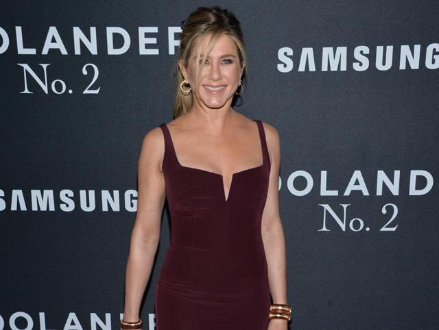 Jennifer Aniston attends the world premiere of Zoolander 2.