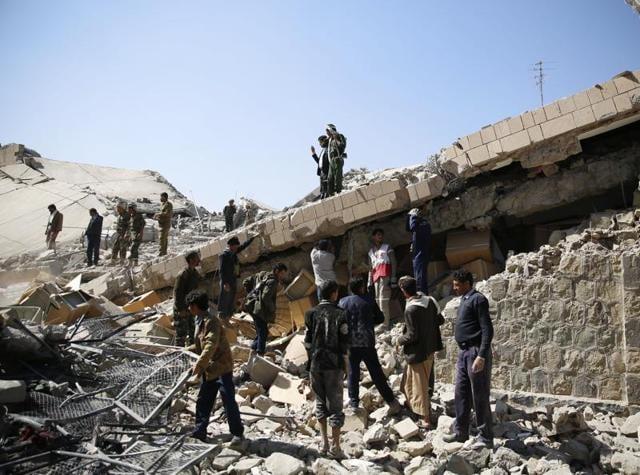 Yemen triple suicide bombing
