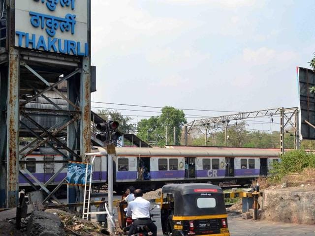 Thakurli is located between Dombivli and Kalyan stations.
