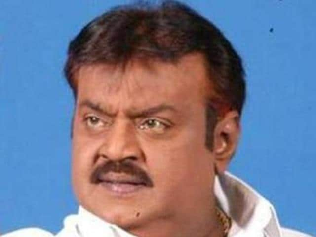 The DMDK is contesting the May 16 elections in alliance with four-party People's Welfare Front with Vijayakanth declared as the chief ministerial candidate.