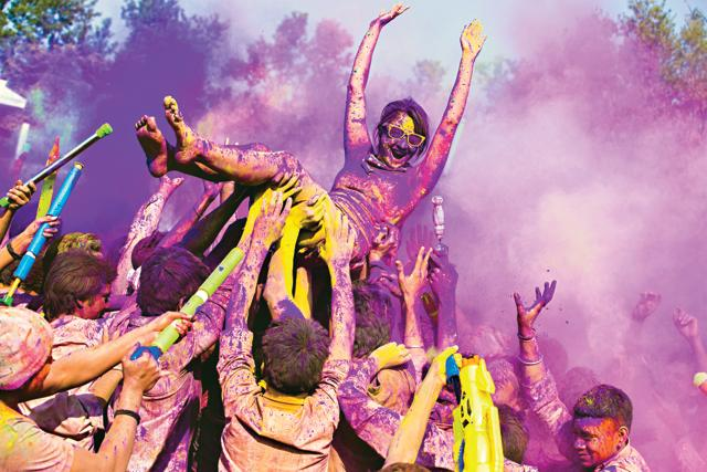 Quite apart from all the damage the excesses of Holi inflict on your skin and hair, there really is nothing to love about this festival