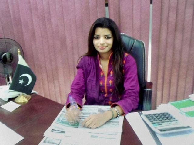 File photo of Pakistani woman journalist, Zeenat Shahzadi who was allegedly kidnapped and missing for the last 7 months. Zeenat was pursuing the case of an Indian engineer recently jailed over espionage charges in Pakistan.