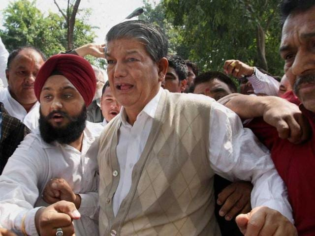 Congress rebel legislators on Saturday released a sting video of chief minister Harish Rawat which, they alleged, showed him indulging in horse-trading to save his government.